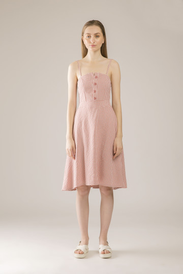 Behati Dress Tank Square - Pink