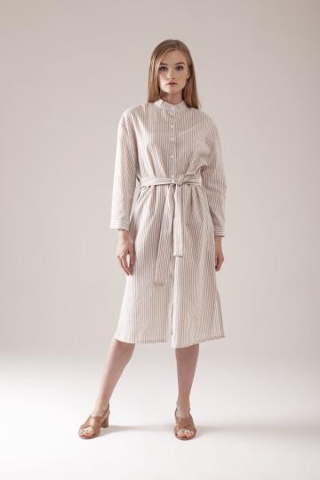 Aileen Dress - Beige