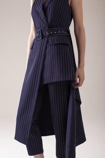 Vanya Pants Suit - Navy