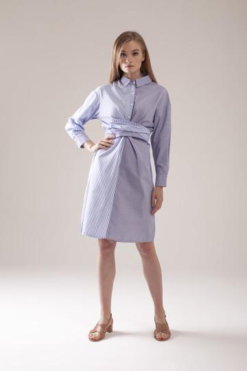 Gia Stripe Combo Dress