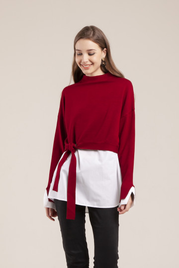 Roxie Sweater Set - Red