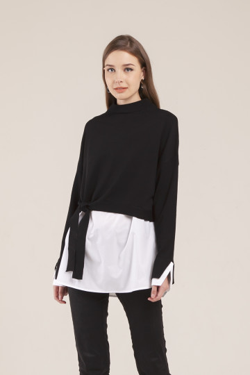 Roxie Sweater Set - Black