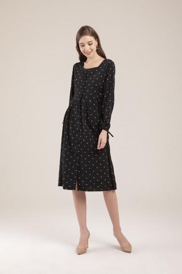 Dotsie Dress - Black