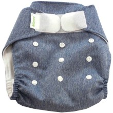 Minoo Cloth Diaper - Blue Jeans