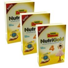 Dancow Nutrigold 4 @3Dus Susu Pertumbuhan - Vanila - 700gr Box (R)