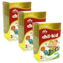 Morinaga Chil Kid Reguler @3Dus Susu Pertumbuhan - Vanila - 800gr (R)