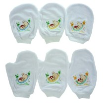 COSTLY Waslap Bordir - Sleeping Bear - paket 6 pc