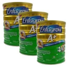 Enfagrow A+ 4 Susu Pertumbuhan - Vanila - 800 gr - 3pcs (R)