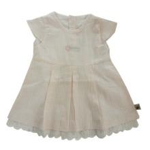 BABYLON Rok Potong Dada -  Dress CRI - size 1 ukuran-salur pink &putih