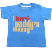 CALMET PENDEK  - I Love Daddy's Money -Size SML 123