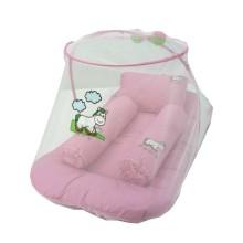 1. Baby Hai Kasur Kelambu Bordir Baby - PONY (PINK)