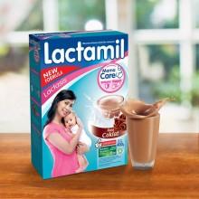 Lactamil Lactasis Coklat 400gr Box @3pcs