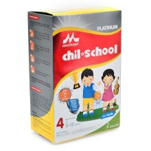 Morinaga Chil School 4 Platinum Vanila 800g@3pcs (R)