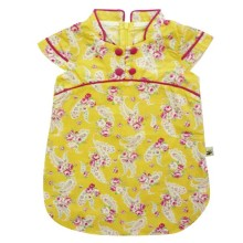 Babylon Dress Pot. Dada Krah Shanghai Chinese Story - Yellow
