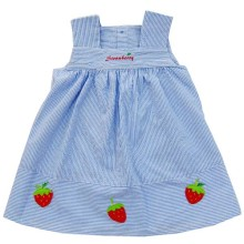Babylon Rok A-Line Strawberry  Garis 1