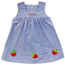 Babylon Rok A-Line Strawberry  Garis 2
