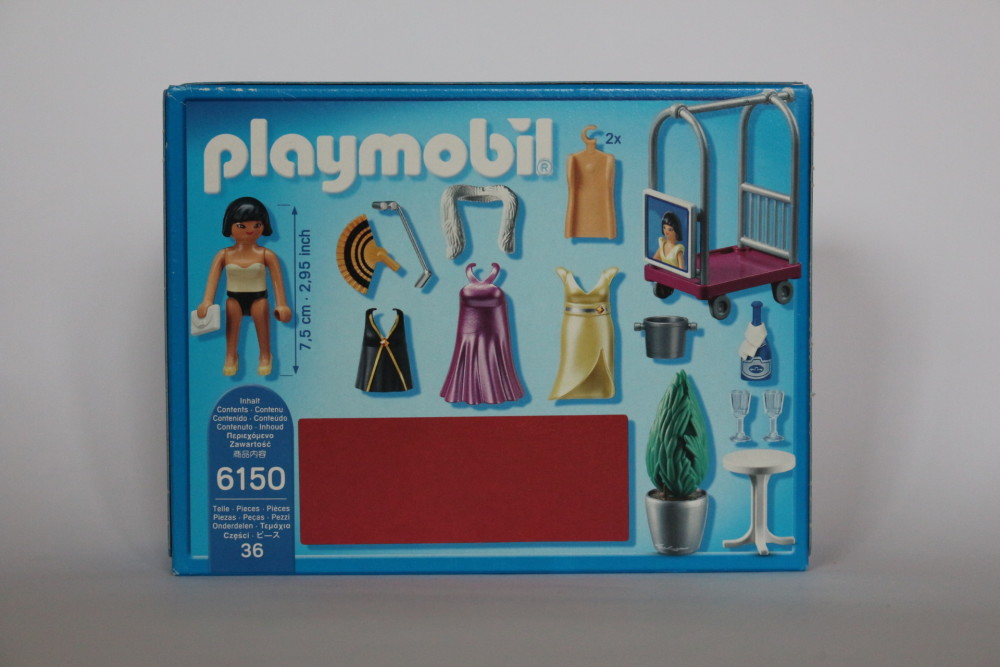 Playmobil® City Life Star shooting on red carpet 6150 NEW PM0876