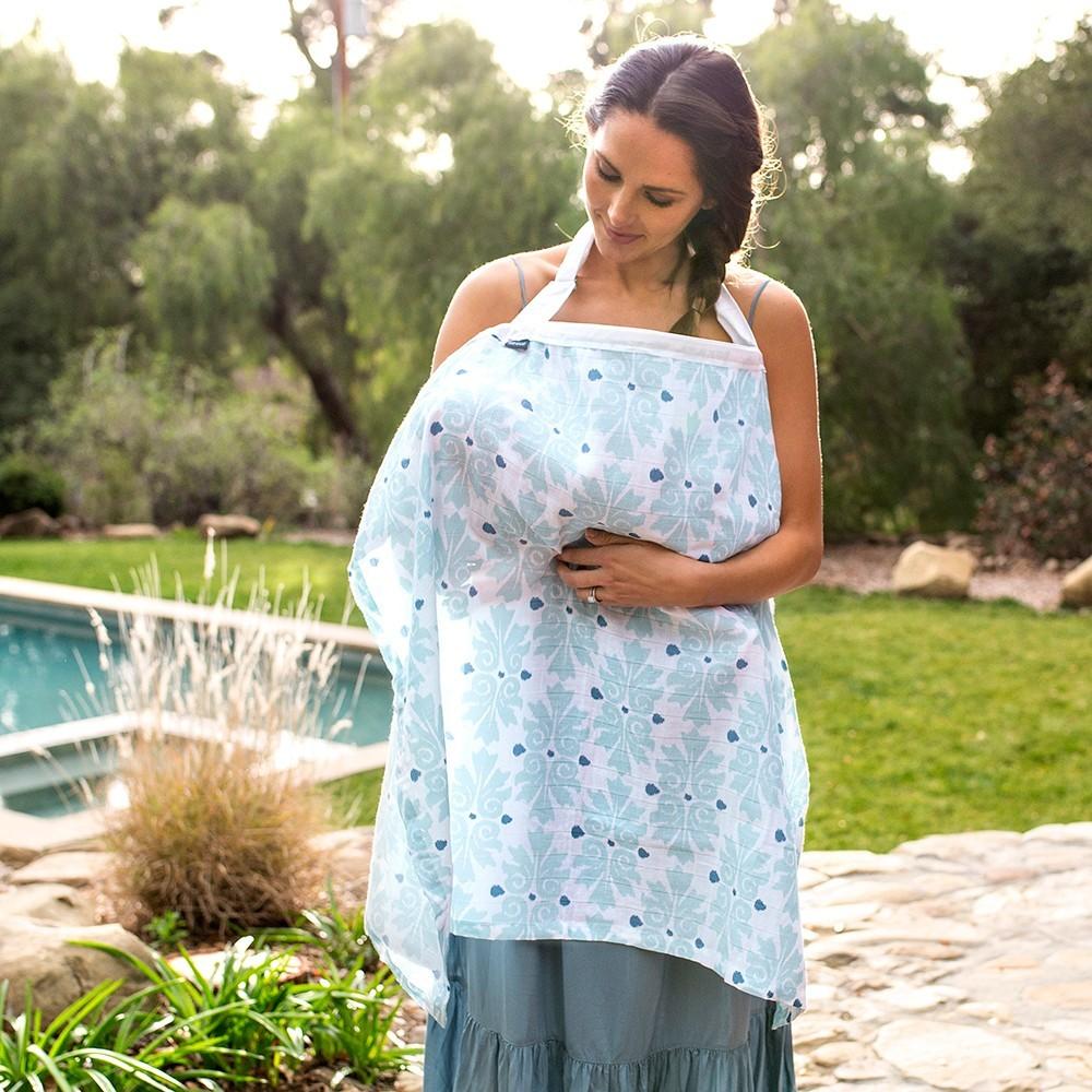 Nursing Breastfeeding Cover Baby Sun Canopy Seat Cushion Stylish Shawl