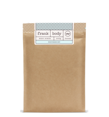 Frank Body Peppermint Coffee Scrub (200g) image