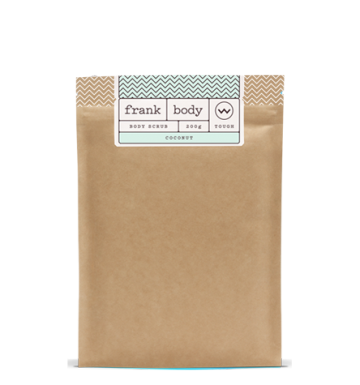 Frank Body Coconut Coffee Scrub (200g) image