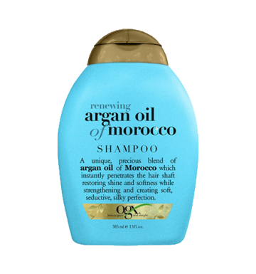 OGX Renewing Moroccan Argan Creme Shampoo (385ml) image