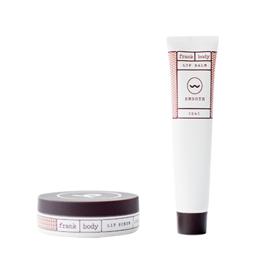 FRANK BODY Lip Scrub And Lip Balm Duo image