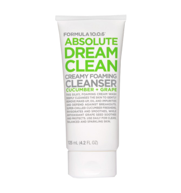 FORMULA 10.0.6 Absolute Dream Clean, Creamy Foaming Cleanser (125ml) image