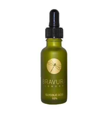 BRAVURA Glycolic Acid 10% (30ml) (Infused With Lavender) image