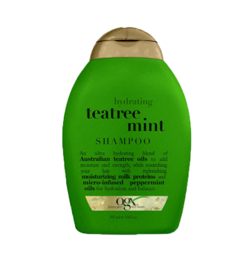 OGX Hydrating Teatree Mint Shampoo (385ml) image