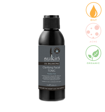 SUKIN Oil Balancing Clarifying Facial Tonic (125 ml) image