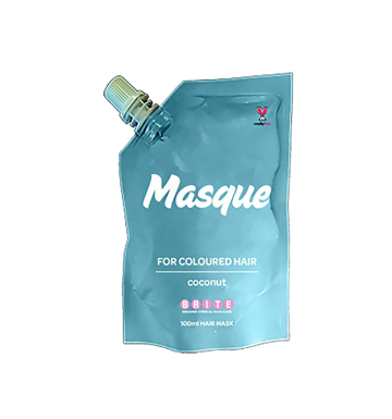 BRITE ORGANIX Masque For Coloured Hair - Coconut (100ml) image