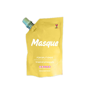 BRITE ORGANIX Masque For Split Ends - Tropical Pineapple (100ml) image