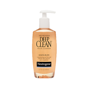 NEUTROGENA Deep Clean Facial Cleanser (200ml) image