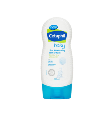 CETAPHIL Baby Ultra Moisturising Bath and Wash (230ml) image