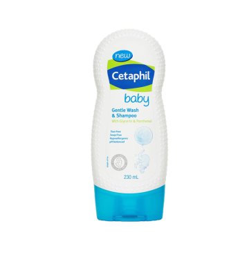CETAPHIL Baby Gentle Wash and Shampoo (230ml) image