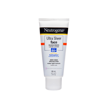 NEUTROGENA Ultra Sheer Face Lotion SPF50+ (88ml) image