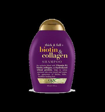 OGX Thick & Full Biotin & Collagen Shampoo (385ml) image