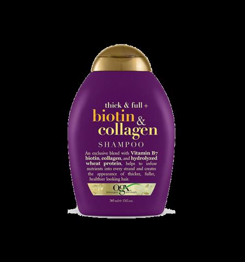 OGX Biotin and Collagen Shampoo (385ml) image