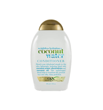 OGX Weightless Hydration Coconut Water Conditioner (385ml) image