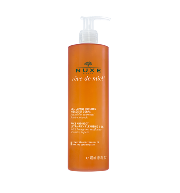NUXE Rêve de Miel Face and Body Ultra-Rich Cleansing Gel (400ml) image