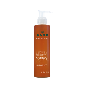 NUXE Rêve de Miel Face Cleansing and Make-Up Removing Gel (200ml) image