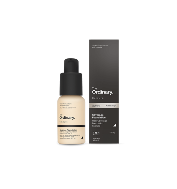 THE ORDINARY Colours Coverage Foundation - 1.0 N (30ml) image