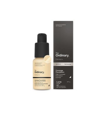 THE ORDINARY Colours Coverage Foundation - 1.2 YG (30ml) image