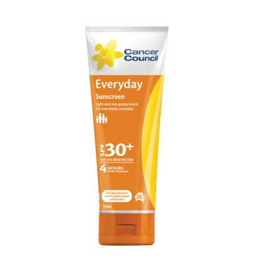 CANCER COUNCIL Everyday Sunscreen SPF 30+ (250 ml) image