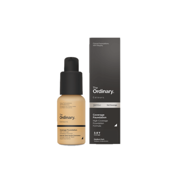 THE ORDINARY Colours Coverage Foundation - 3.0 Y (30ml) image