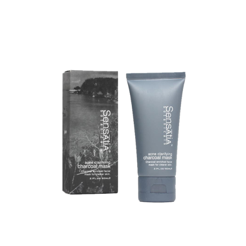 Sensatia Botanicals Acne Clarifying Charcoal Mask (60ml) image