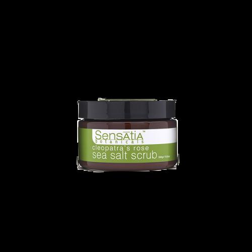 Sensatia Botanicals Cleopatra's Rose Sea Salt Body scrub (100gr) image