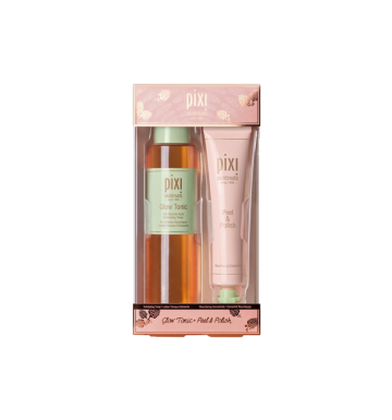 PIXI Skintreat Duo (Glow Tonic, Peel & Polish)( 250ml, 80ml ) image