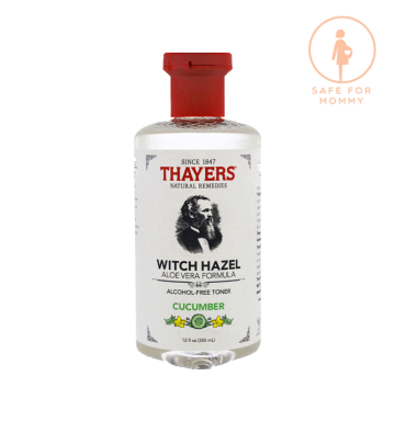 THAYERS Thayers, Witch Hazel, Aloe Vera Formula, Alcohol Free Toner, Cucumber (355ml) image