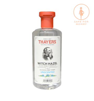THAYERS Witch Hazel, Aloe Vera Formula, Alcohol Free Toner, Unscented (355ml) image